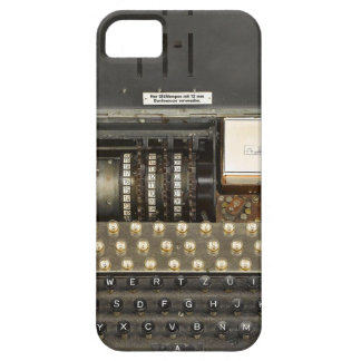 Vintage_WWII_Enigma iPhone 5 Carcasas