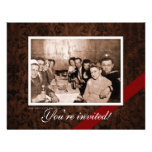 Vintage WWII Era Gathering Custom Announcement