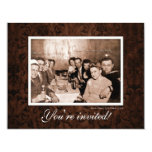 Vintage WWII Era Gathering Reunion 4.25x5.5 Paper Invitation Card