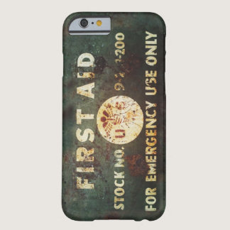 Vintage WWII First Aid iPhone 6 case