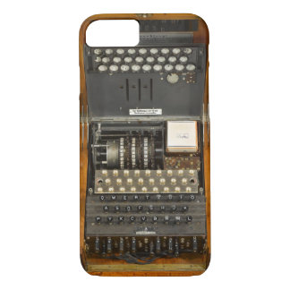 Vintage WWII German Enigma iPhone 7 Case