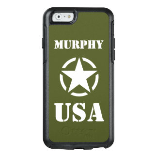 Vintage WWII Military Vehicle White Star in Circle OtterBox iPhone 6/6s Case