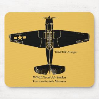 Vintage WWII TBM/TBF Avenger Mouse Pad