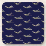 Vintage WWII US Aircraft 2 Coaster