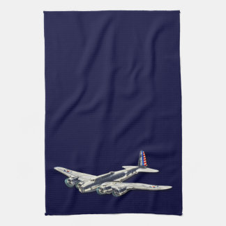 Vintage WWII US Aircraft Kitchen Towel