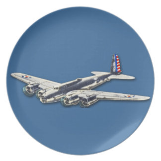 Vintage WWII US Aircraft Plate