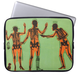 Vintage X Ray People Gun Science Fiction Invention Laptop Sleeves