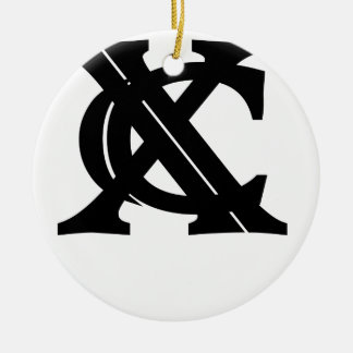 Vintage XC Cross Country Tee Shirt.png Christmas Ornaments