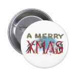 Vintage XMAS Formal Wear Partiers Pinback Buttons