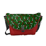 Vintage Xmas Shoppers Courier Bags