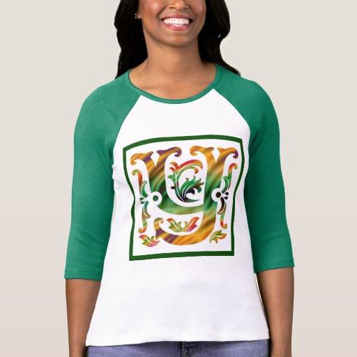 Vintage Y inicial - monograma Y T-shirt