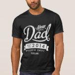 Vintage y ojo que cogen al nuevo papá 2014 camiseta