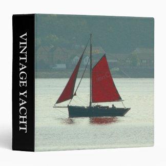 Vintage Yacht (1.5in) 3 Ring Binder