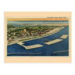 Vintage Yacht Basin, Corpus Christi, Texas Post Card