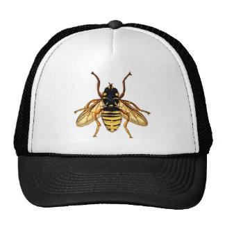 Vintage Yellow Bee Trucker Hat