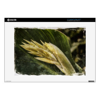 Vintage Yellow Bird of Paradise Skins For Laptops