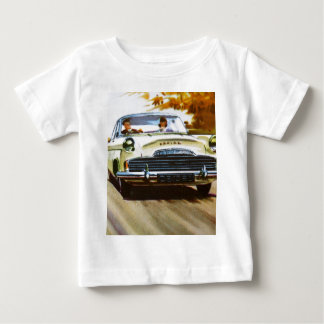 Vintage Yellow Car Tee Shirt Infant