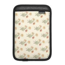 Vintage Yellow Daisy Flowers Calendula Daisies Pat iPad Mini Sleeve