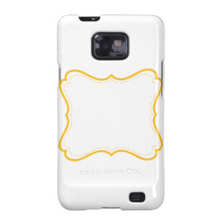 Vintage Yellow Frame | Customizable Samsung Galaxy S2 Cases