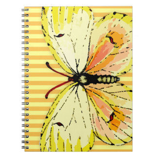 Vintage Yellow German Cleopatra Butterfly Journal