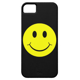 Vintage Yellow Happy Smiley Face iPhone 5 Case