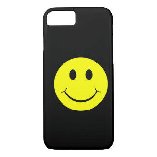 Vintage Yellow Happy Smiley Face iPhone 7 case