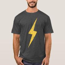 Vintage Yellow Lightning Bolt T-Shirt