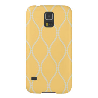 Vintage yellow preppy hollywood regency girly chic case for galaxy s5