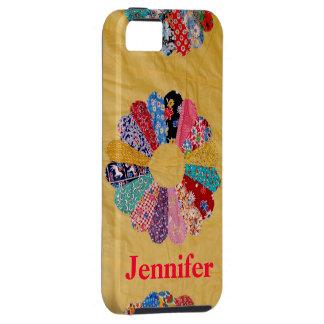 Vintage Yellow Quilt iPhone SE/5/5s Case