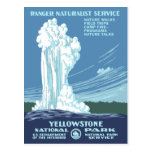 Vintage Yellowstone WPA Post Cards