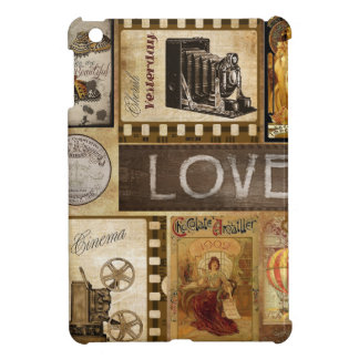 Vintage Yesterday Love Woman Cinema Chocolate iPad Mini Case