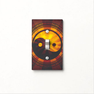 Vintage Yin Yang Symbol Light Switch Plates