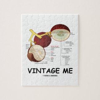 Vintage yo (baya de la uva) rompecabezas