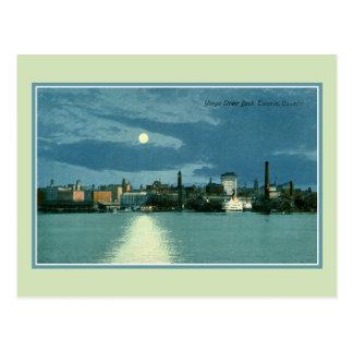 Vintage Yonge Street Dock Toronto Canada Post Cards