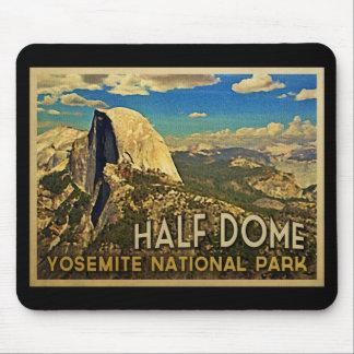 Vintage Yosemite Half Dome Mouse Pad