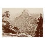 Vintage Yosemite National Park Card