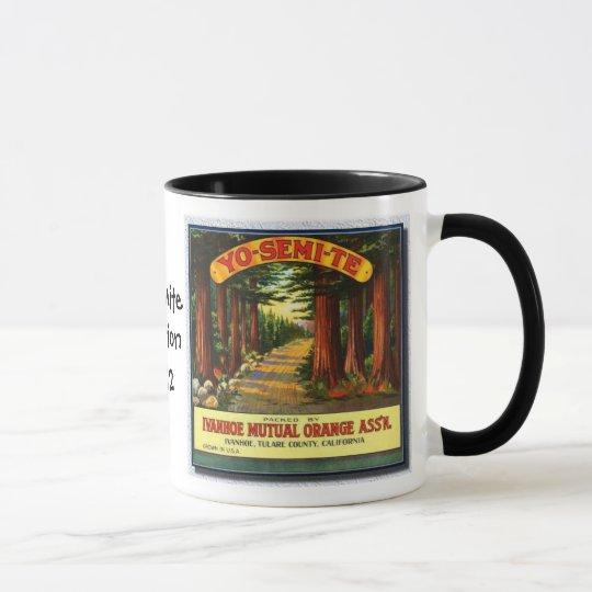 Vintage Yosemite Redwoods Vacation-Mug Mug