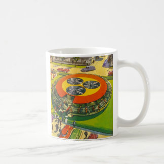"Vintage 'Your Own UFO"" Spaceship Flying Saucer Coffee Mug"