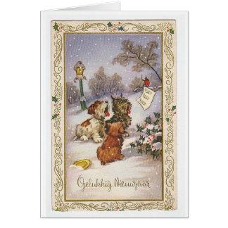 Vintage Yule Card
