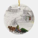 Vintage Yule Ornament