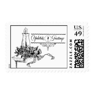 Vintage Yuletide Postage