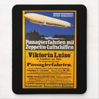 Vintage Zeppelin Viktoria Luise Mouse Pad