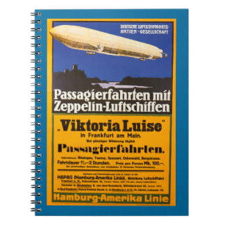 Vintage Zeppelin Viktoria Luise Notebook