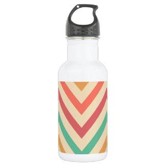 vintage zig zag water bottle