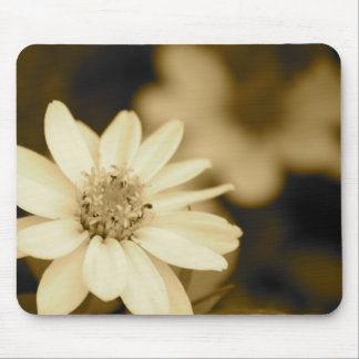 Vintage Zinnia Mouse Pads