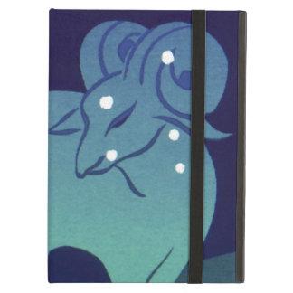 Vintage Zodiac, Astrology Aries Ram Constellation iPad Air Case