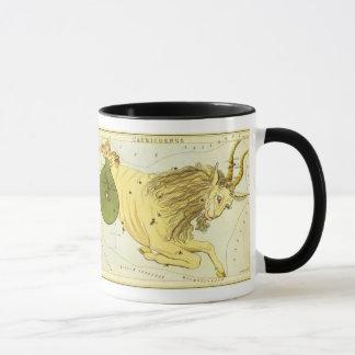 Vintage Zodiac, Astrology Capricorn Constellation Mug