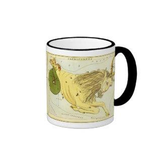 Vintage Zodiac, Astrology Capricorn Constellation Coffee Mug