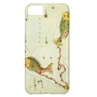 Vintage Zodiac Astrology Pisces Fish Constellation iPhone 5C Cases