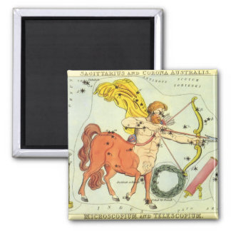 Vintage Zodiac Astrology Sagittarius Constellation Magnet